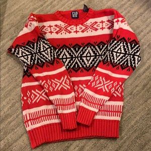 Vintage Gap red sweater M